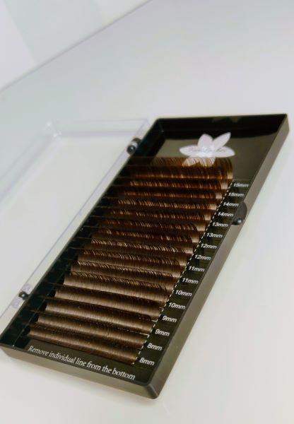 Brown Minkkiripset C 0.07 mix 8-15mm